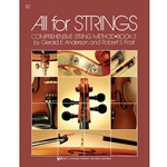 All for Strings Bk. 3 Viola