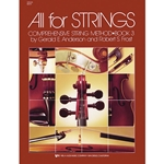 All for Strings Bk. 3 Cello