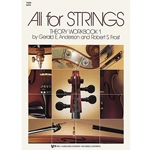 All for Strings Theory Workbook Bk. 1 Cello