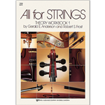 All for Strings Theory Workbook Bk. 1 Violin