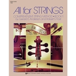 All for Strings Bk. 1 String Bass