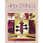 All for Strings Bk. 1 Violin