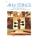 All for Strings Theory Workbook Bk. 2 Cello