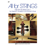 All for Strings Theory Workbook Bk. 2 Violin
