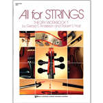 All for Strings Theory Workbook Bk. 1 String Bass