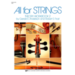 All for Strings Theory Workbook Bk. 2 String Bass