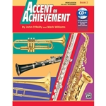 Accent on Achievement Bk. 2 Percussion Snare Bass Access.