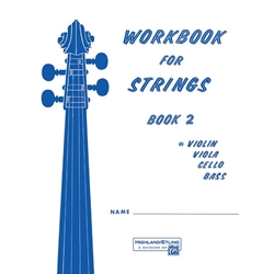 Workbook for Strings Bk. 2 Violin