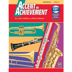 Accent on Achievement Bk. 2 Baritone B.C.