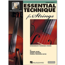Essential Technique 2000 for Strings Bk. 3 Violin