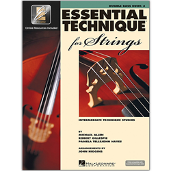 Essential Technique 2000 for Strings Bk. 3 Double Bass