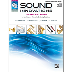 Sound Innovations Bk. 1 Combined Percussion