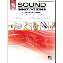 Sound Innovations Bk. 2 Baritone (Bass Clef)